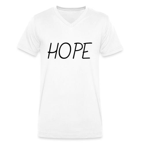 Hope - Espoir - T-shirt bio col V Stanley & Stella Homme