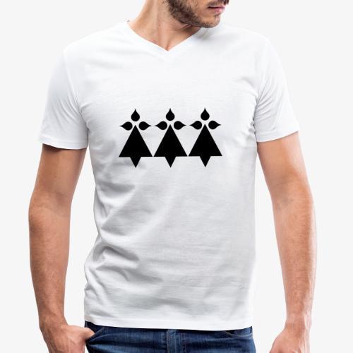hermines - T-shirt bio col V Stanley & Stella Homme