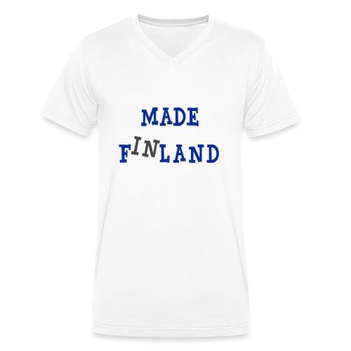 Made in Finland - Stanley & Stellan miesten luomupikeepaita