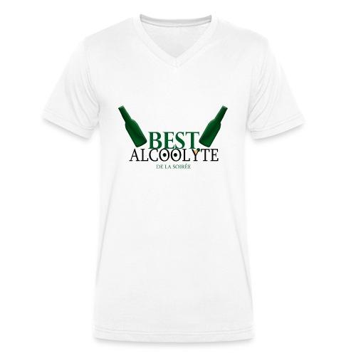 Alcoolyte ! - T-shirt bio col V Stanley & Stella Homme