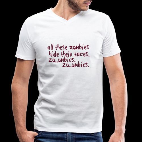 zo_ombie - Männer Bio-T-Shirt mit V-Ausschnitt von Stanley & Stella