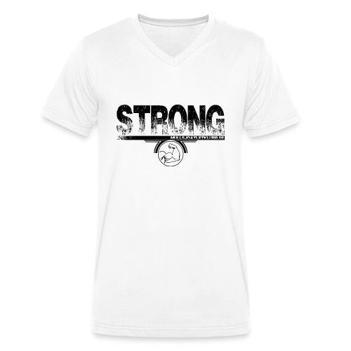 strong png - Ekologisk T-shirt med V-ringning herr från Stanley & Stella