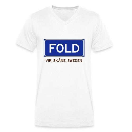 Vik, Badly Translated - Ekologisk T-shirt med V-ringning herr från Stanley & Stella