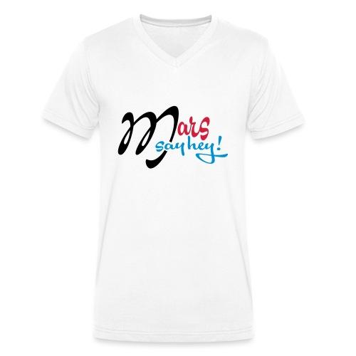 Mars_Say_Hey_V3 - T-shirt bio col V Stanley & Stella Homme
