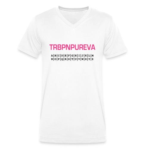 trbpnpureva - geocacherin - Männer Bio-T-Shirt mit V-Ausschnitt von Stanley & Stella