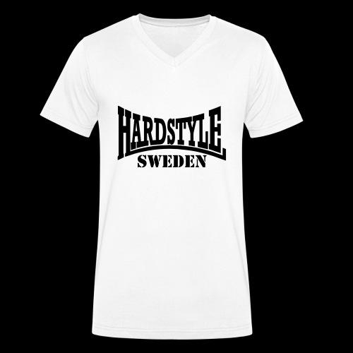 hardstyle - Ekologisk T-shirt med V-ringning herr från Stanley & Stella