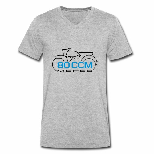 Moped Sperber Habicht 80 ccm Emblem - Men's Organic V-Neck T-Shirt by Stanley & Stella