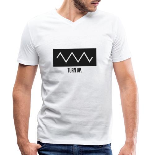 Turn Up - Männer Bio-T-Shirt mit V-Ausschnitt von Stanley & Stella