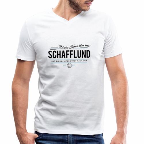 Schafflund - für Kenner 2 - Männer Bio-T-Shirt mit V-Ausschnitt von Stanley & Stella