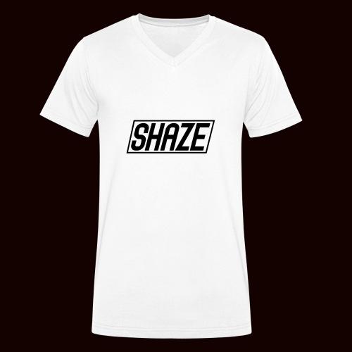 Shaze T-Shirt - Mannen bio T-shirt met V-hals van Stanley & Stella