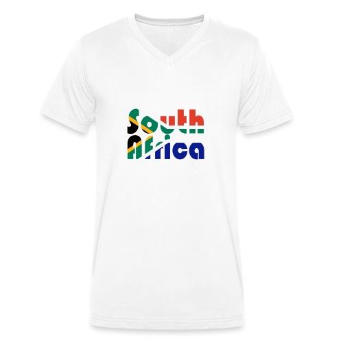 South Africa - Männer Bio-T-Shirt mit V-Ausschnitt von Stanley & Stella