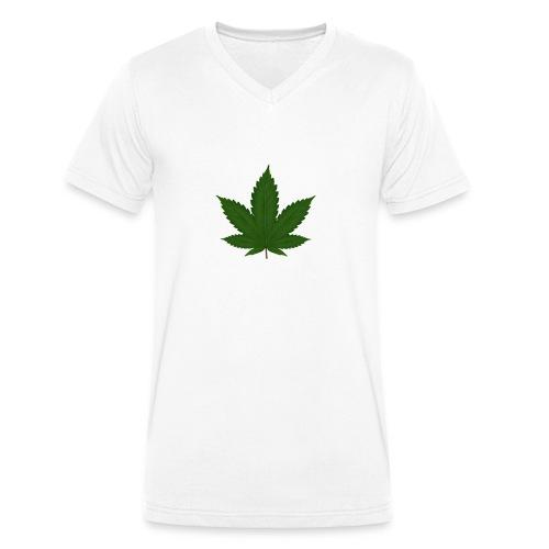 Yannik Merch - Männer Bio-T-Shirt mit V-Ausschnitt von Stanley & Stella