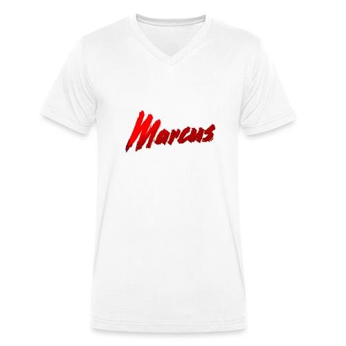 Marcus stile - T-shirt ecologica da uomo con scollo a V di Stanley & Stella