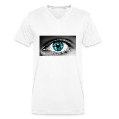 eyes_2 - Mannen bio T-shirt met V-hals van Stanley & Stella
