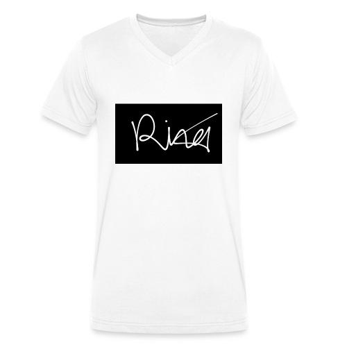Autogramm - Männer Bio-T-Shirt mit V-Ausschnitt von Stanley & Stella
