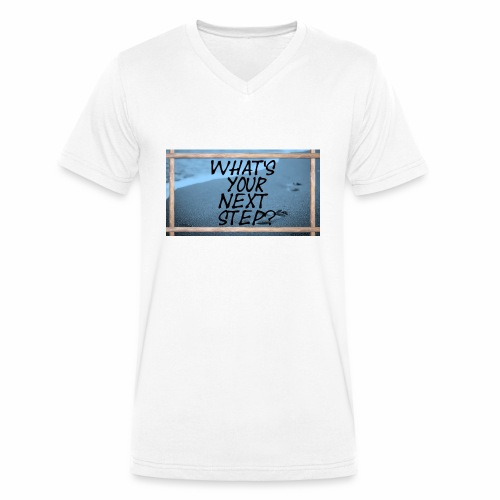 NEXT STEP - Männer Bio-T-Shirt mit V-Ausschnitt von Stanley & Stella
