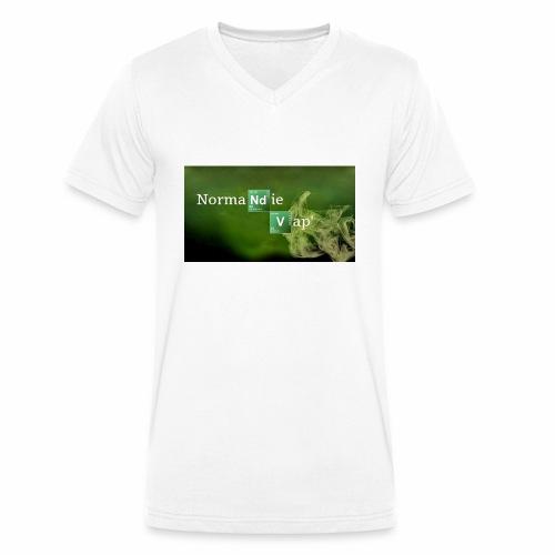 Normandie Vap' - T-shirt bio col V Stanley & Stella Homme