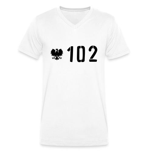 RUDY Kapuzenpullover - Männer Bio-T-Shirt mit V-Ausschnitt von Stanley & Stella