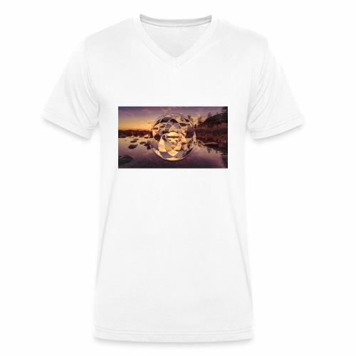 Geometric Design 2.1 - Men's Organic V-Neck T-Shirt by Stanley & Stella