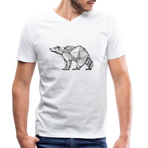 #agireverde - T-shirt ecologica da uomo con scollo a V di Stanley & Stella