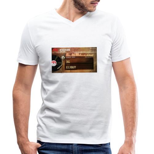T.N.G. - X.T.C. Reality - Mannen bio T-shirt met V-hals van Stanley & Stella