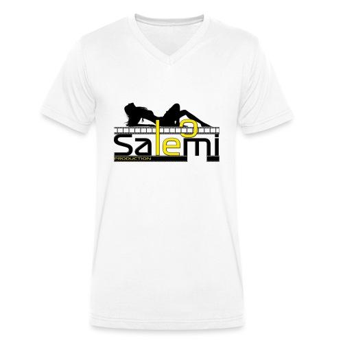 Leo Salemi - T-shirt ecologica da uomo con scollo a V di Stanley & Stella