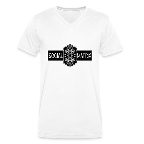 HET ORIGINEEL - Mannen bio T-shirt met V-hals van Stanley & Stella