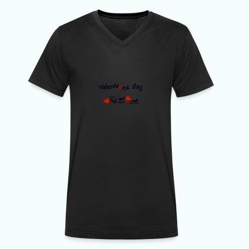 valenteens day - Männer Bio-T-Shirt mit V-Ausschnitt von Stanley & Stella