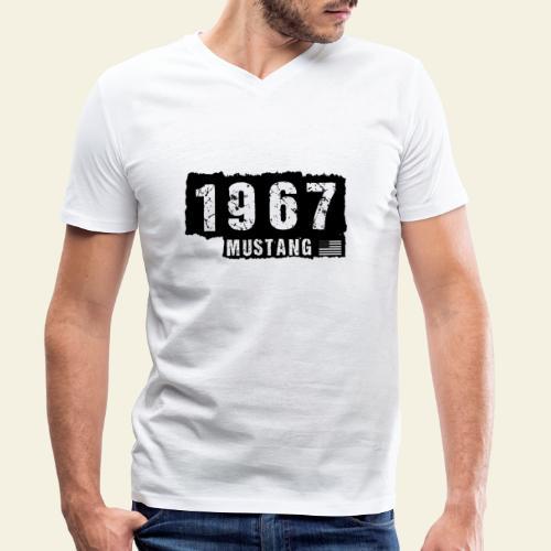 1967 - Økologisk Stanley & Stella T-shirt med V-udskæring til herrer