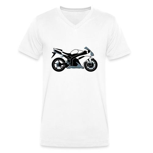 R1 07-on V2 - Men's Organic V-Neck T-Shirt by Stanley & Stella