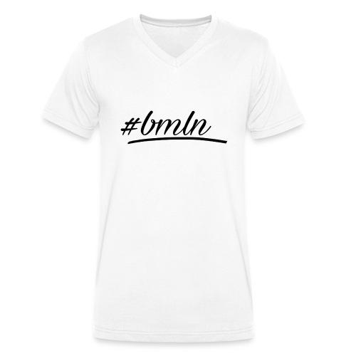 #BAUMELNLASSEN - Männer Bio-T-Shirt mit V-Ausschnitt von Stanley & Stella