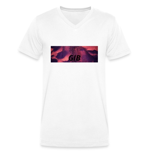 Feuerwerk - Männer Bio-T-Shirt mit V-Ausschnitt von Stanley & Stella