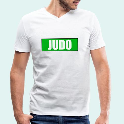 Judo Gruen 3. Kyu - Männer Bio-T-Shirt mit V-Ausschnitt von Stanley & Stella