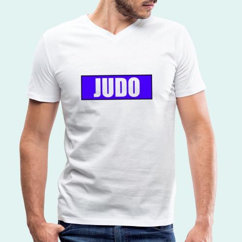 Judo Blau 2. Kyu - Männer Bio-T-Shirt mit V-Ausschnitt von Stanley & Stella