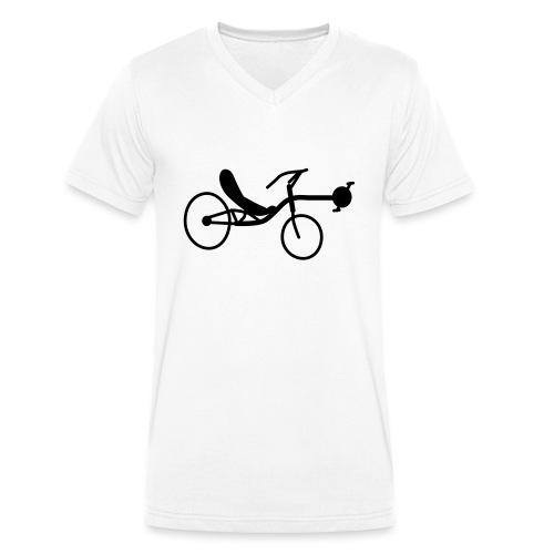 Liegerad Streetmachine 2 - Männer Bio-T-Shirt mit V-Ausschnitt von Stanley & Stella