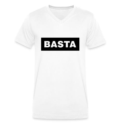 Basta Rechteck - Men's Organic V-Neck T-Shirt by Stanley & Stella