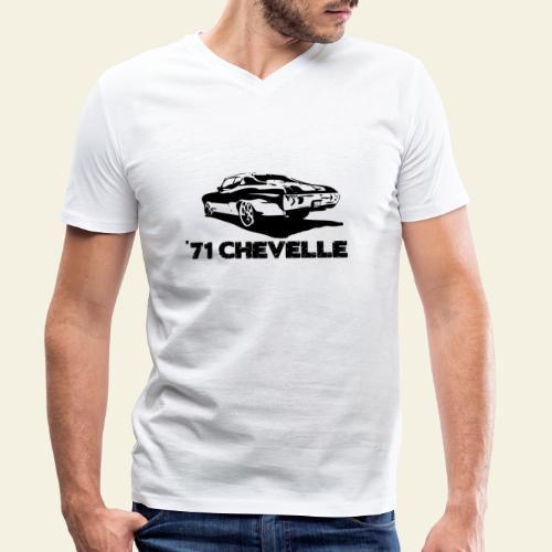 chevelle small - Økologisk Stanley & Stella T-shirt med V-udskæring til herrer