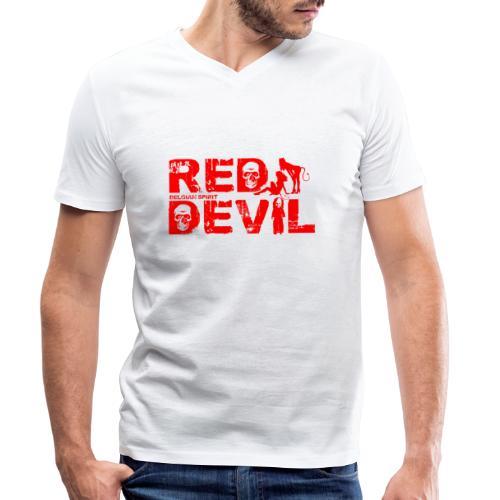 BELGIAN-RED-DEVIL - T-shirt bio col V Stanley & Stella Homme