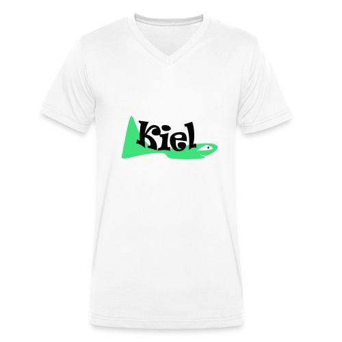 kielfish - Männer Bio-T-Shirt mit V-Ausschnitt von Stanley & Stella