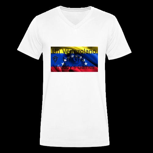 Alfombra De Mouse Un Venezolano En GTA - Camiseta ecológica hombre con cuello de pico de Stanley & Stella