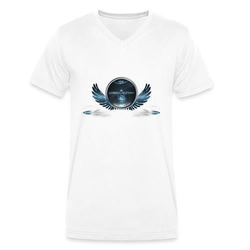 German Ghost Army Logo - Männer Bio-T-Shirt mit V-Ausschnitt von Stanley & Stella