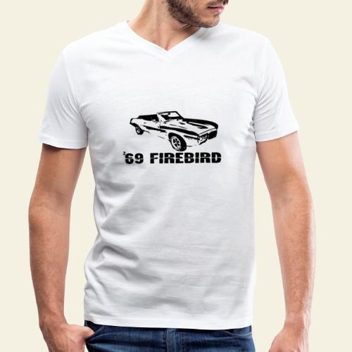 firebird small - Økologisk Stanley & Stella T-shirt med V-udskæring til herrer