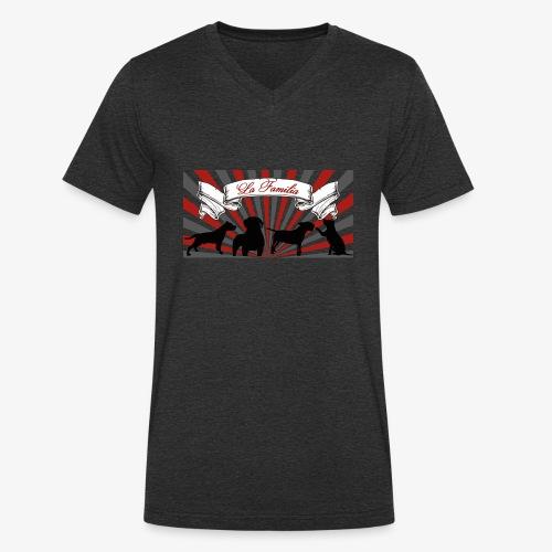 La Familia - Männer Bio-T-Shirt mit V-Ausschnitt von Stanley & Stella