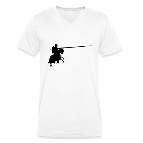 Ritter - Männer Bio-T-Shirt mit V-Ausschnitt von Stanley & Stella