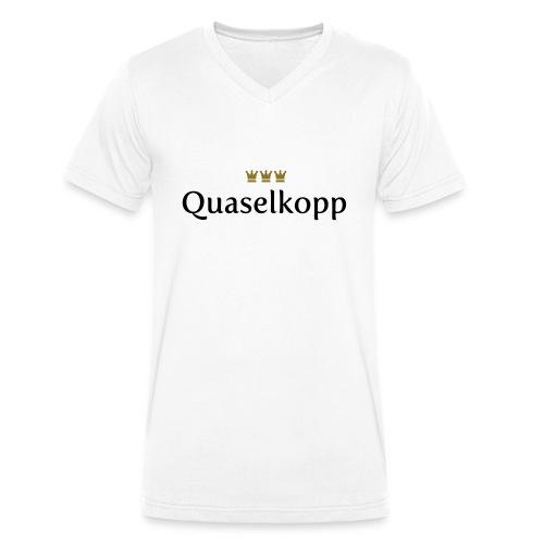 Quaselkopp (Köln/Kölsch/Karneval) - Männer Bio-T-Shirt mit V-Ausschnitt von Stanley & Stella