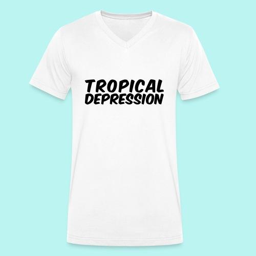 Tropical Depression - Männer Bio-T-Shirt mit V-Ausschnitt von Stanley & Stella
