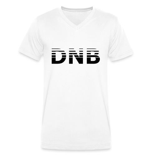 DNB_Logo_Fade - Männer Bio-T-Shirt mit V-Ausschnitt von Stanley & Stella