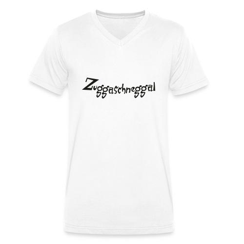 Zuckerschnecke - Männer Bio-T-Shirt mit V-Ausschnitt von Stanley & Stella