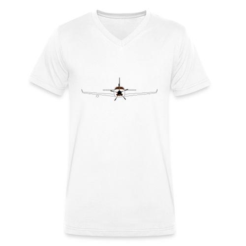 Turboprop - Männer Bio-T-Shirt mit V-Ausschnitt von Stanley & Stella