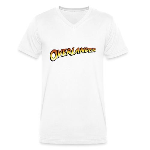 overlander0 - Økologisk T-skjorte med V-hals for menn fra Stanley & Stella